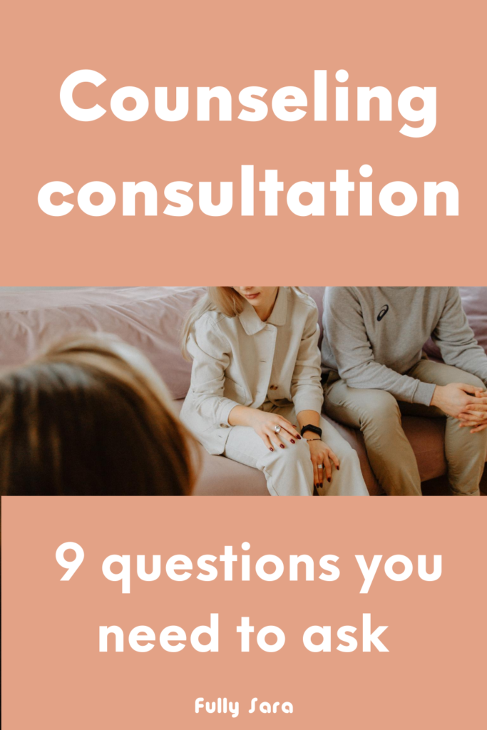 What to ask in your first therapy session