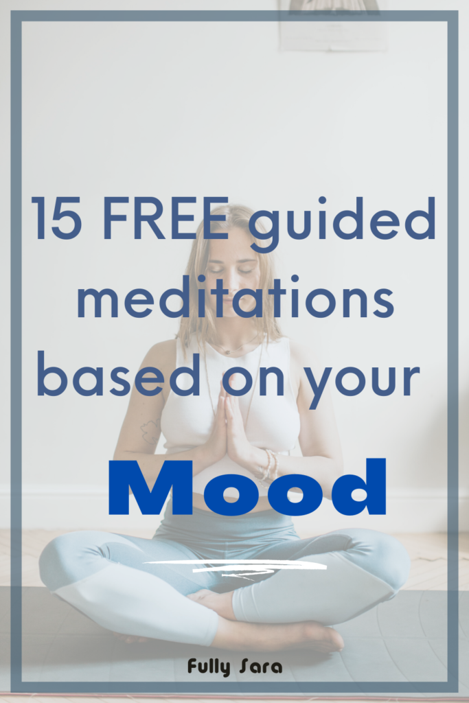 15 free guided meditations for your mood pinterest
